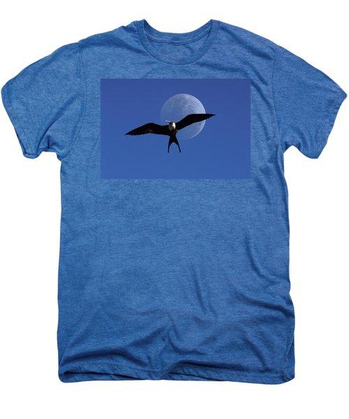 Frigatebird Moon Men's Premium T-Shirt by Jerry McElroy