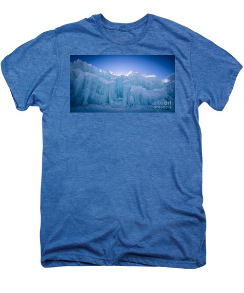 Ice Castle Men's Premium T-Shirt by Edward Fielding