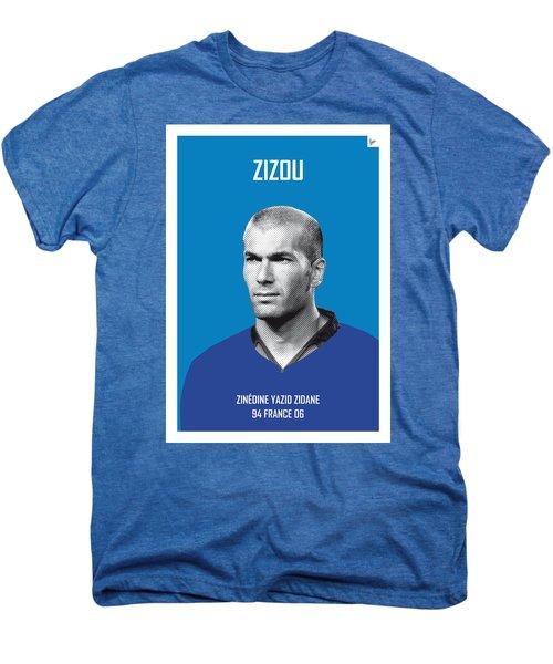 My Zidane Soccer Legend Poster Men's Premium T-Shirt by Chungkong Art