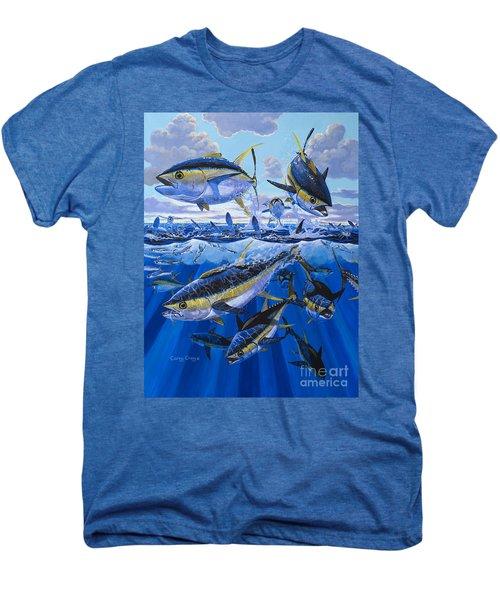Tuna Rampage Off0018 Men's Premium T-Shirt by Carey Chen