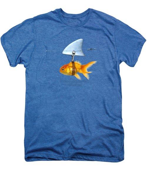 Gold Fish  Men's Premium T-Shirt by Mark Ashkenazi