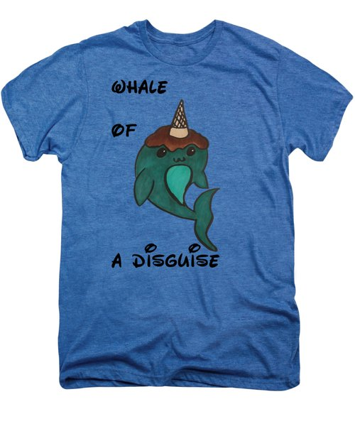 a Whale of a disguise Men's Premium T-Shirt by Darci Smith