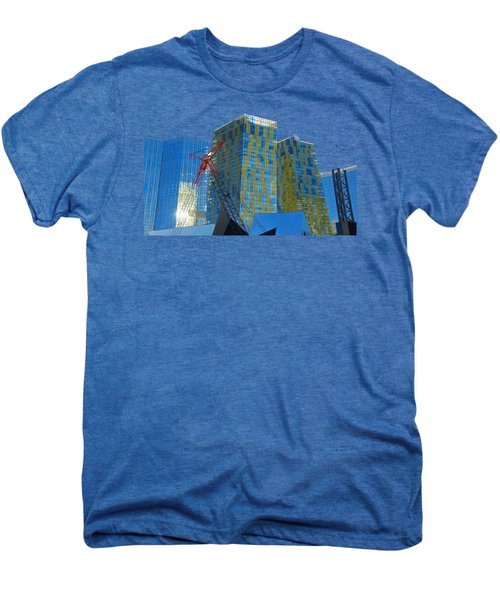Under Construction Men's Premium T-Shirt by Debbie Oppermann