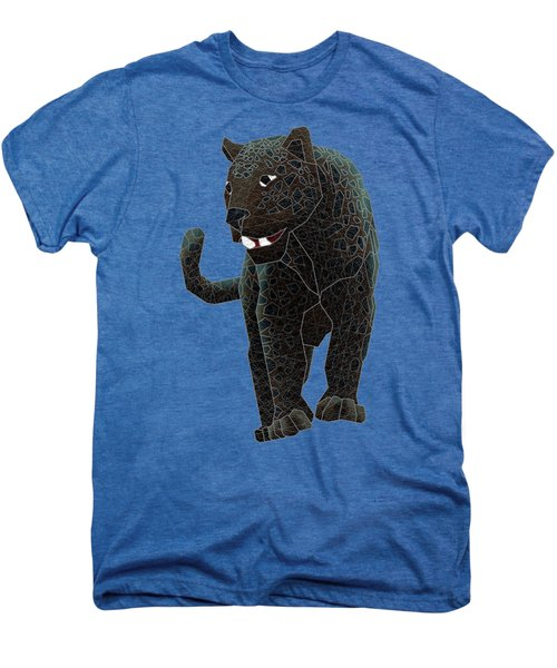 Black Panther Men's Premium T-Shirt by Dusty Conley