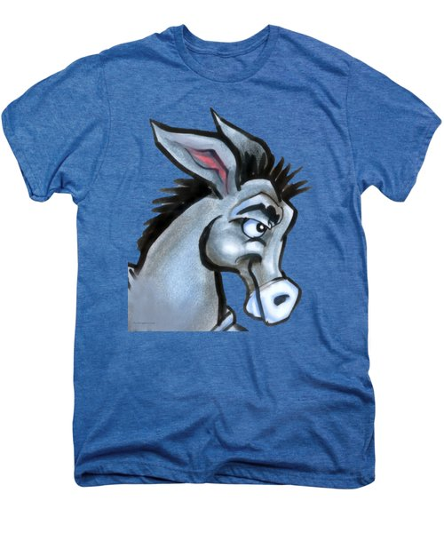 Donkey Men's Premium T-Shirt by Kevin Middleton