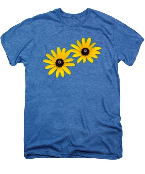 Double Daisies Men's Premium T-Shirt by Christina Rollo