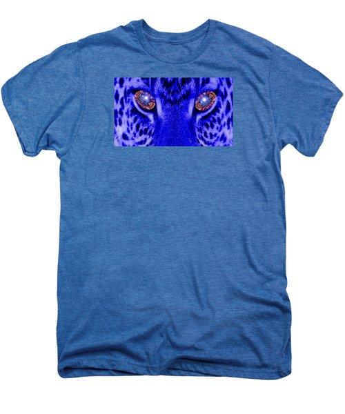 Eyes Of The Leppard Men's Premium T-Shirt by Luisa Gatti