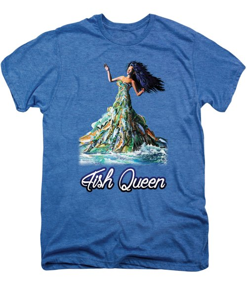 Fish Queen Men's Premium T-Shirt by Anthony Mwangi