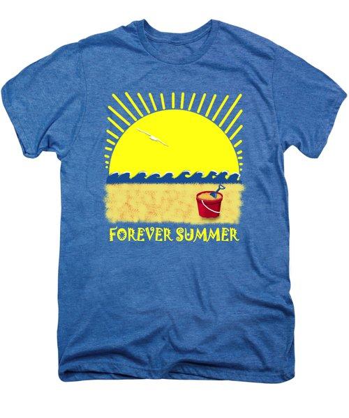 Forever Summer 8 Men's Premium T-Shirt by Linda Lees