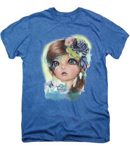 Indigo - Butterfly Keeper - Munchkinz By Sheena Pike  Men's Premium T-Shirt by Sheena Pike