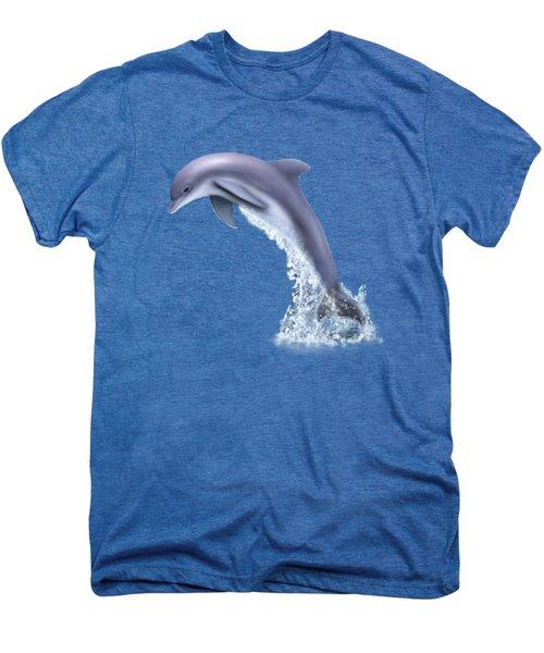 Jumping For Joy Men's Premium T-Shirt by Glenn Holbrook