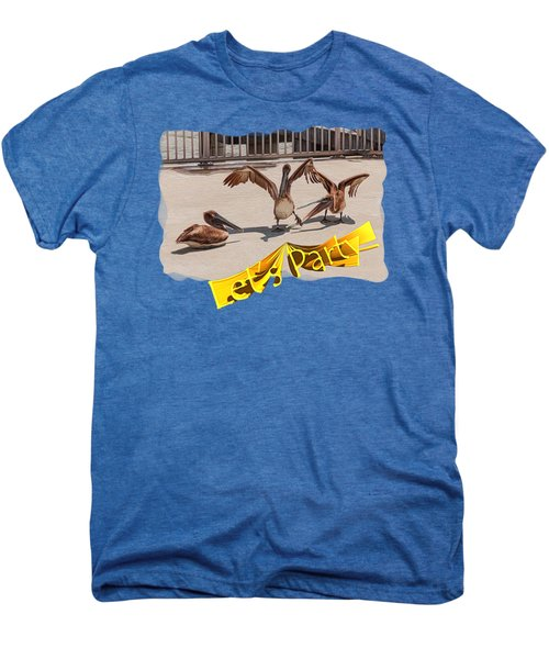 Let's Party Men's Premium T-Shirt by John M Bailey