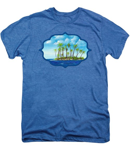 Little Island Men's Premium T-Shirt by Anastasiya Malakhova