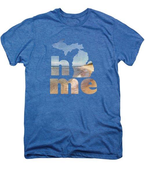 Michigan Home Men's Premium T-Shirt by Emily Kay