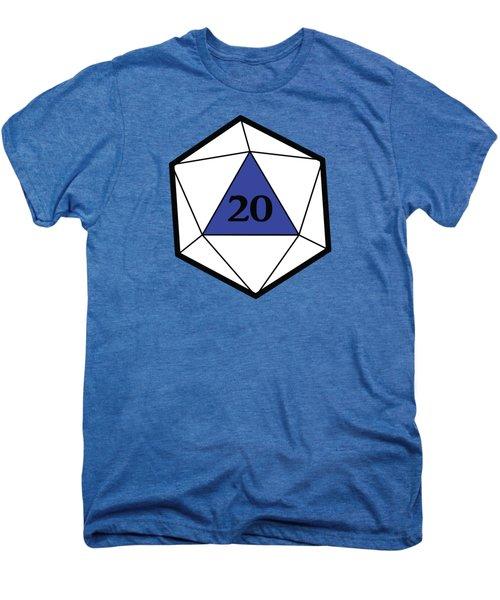 Natural 20 Men's Premium T-Shirt by Carlo Manara