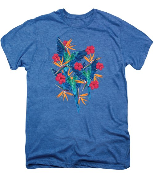 Parrots Men's Premium T-Shirt by Marta Olga Klara