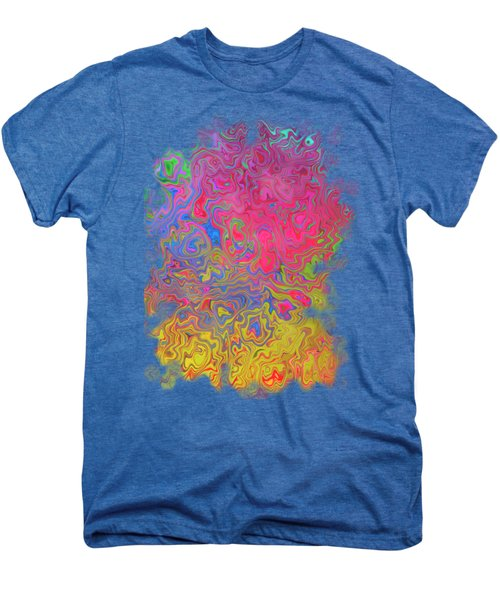 Psychedelic Laundry Transparent Design Men's Premium T-Shirt by Shelly Weingart