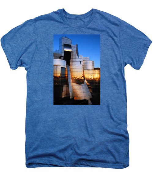 Reflections Of Sunset Men's Premium T-Shirt by James Kirkikis