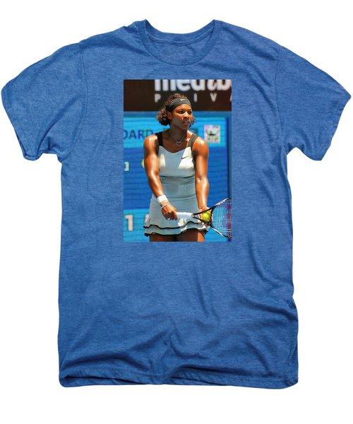 Serena Williams Men's Premium T-Shirt by Andrei SKY