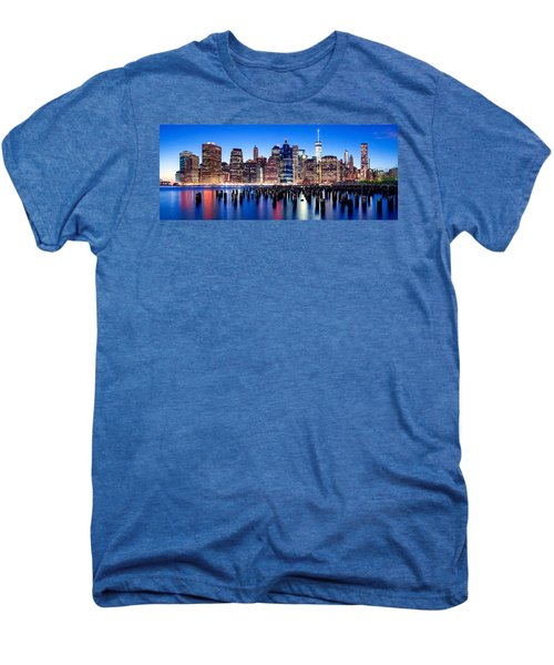Magic Manhattan Men's Premium T-Shirt by Az Jackson