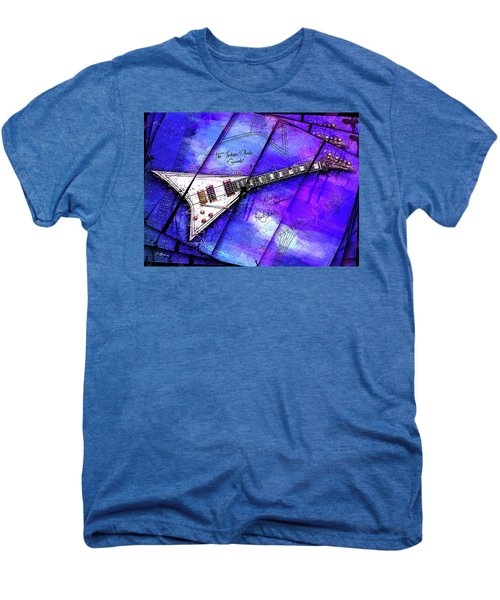 The Concorde On Blue Men's Premium T-Shirt by Gary Bodnar