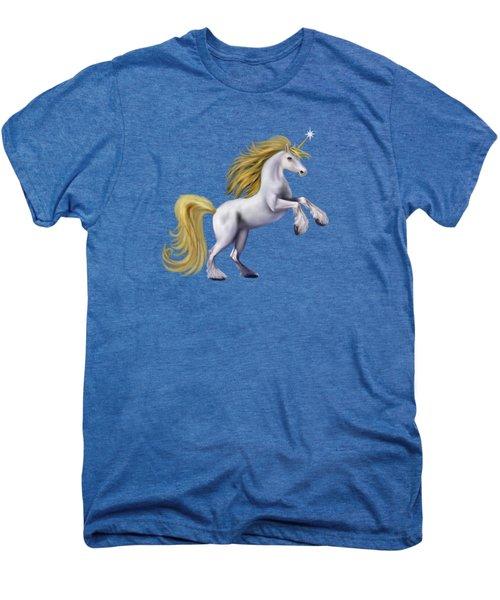 The Golden Unicorn Men's Premium T-Shirt by Glenn Holbrook