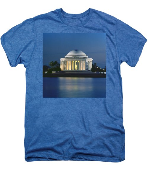 The Jefferson Memorial Men's Premium T-Shirt by Peter Newark American Pictures