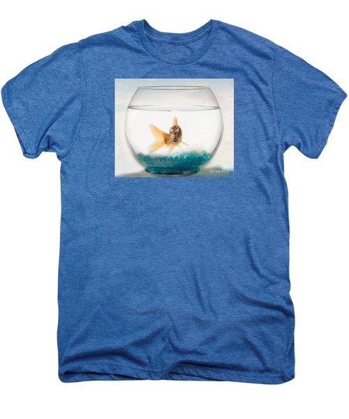 Tiger Fish Men's Premium T-Shirt by Juli Scalzi
