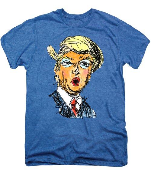 Trump Men's Premium T-Shirt by Robert Yaeger