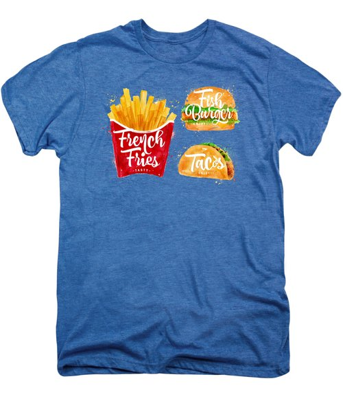 White French Fries Men's Premium T-Shirt by Aloke Design
