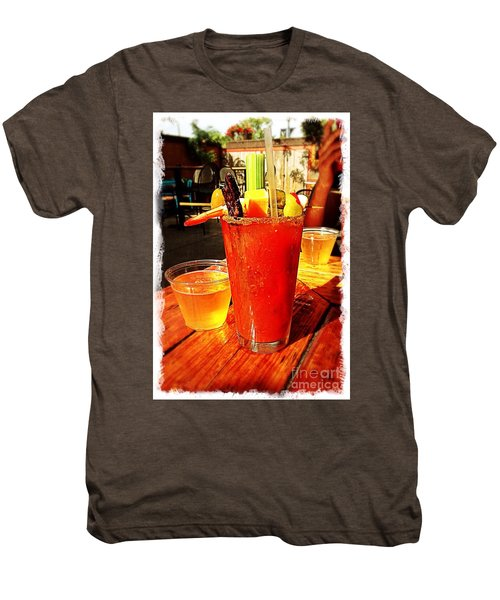 Morning Bloody Men's Premium T-Shirt by Perry Webster