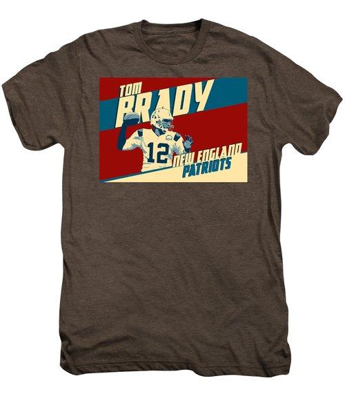 Tom Brady Men's Premium T-Shirt by Taylan Apukovska