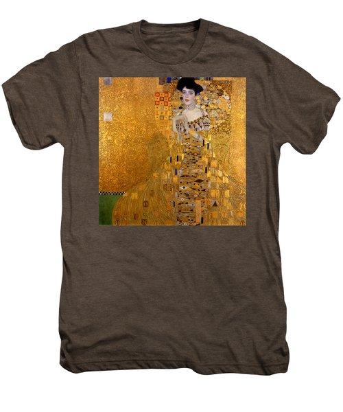 Adele Bloch Bauers Portrait Men's Premium T-Shirt by Gustive Klimt