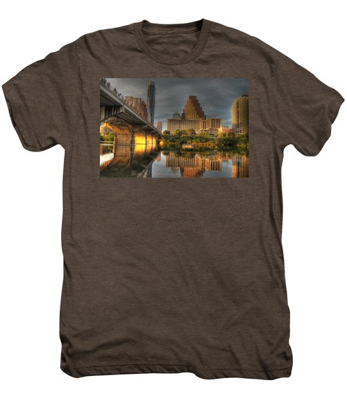 Austin Skyline Men's Premium T-Shirt by Jane Linders