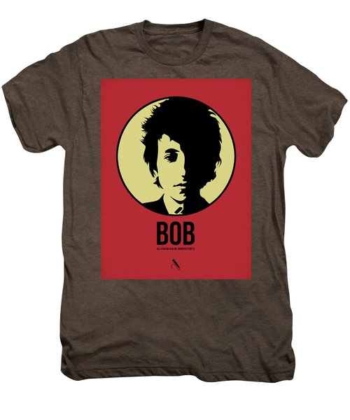Bob Poster 1 Men's Premium T-Shirt by Naxart Studio