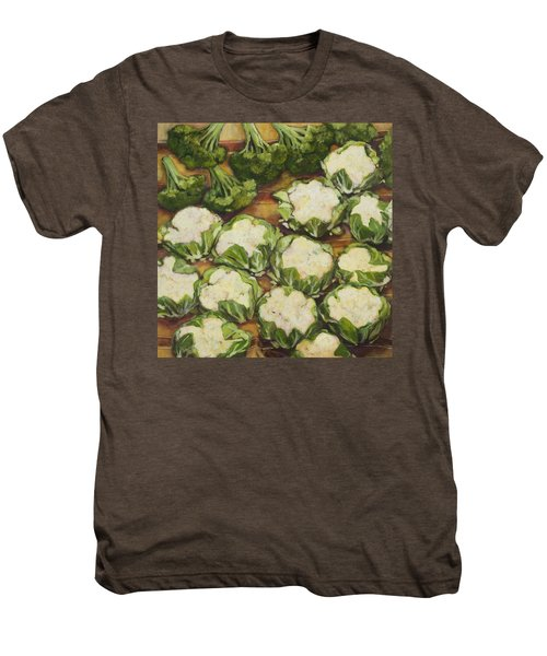 Cauliflower March Men's Premium T-Shirt by Jen Norton