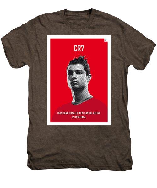 My Ronaldo Soccer Legend Poster Men's Premium T-Shirt by Chungkong Art