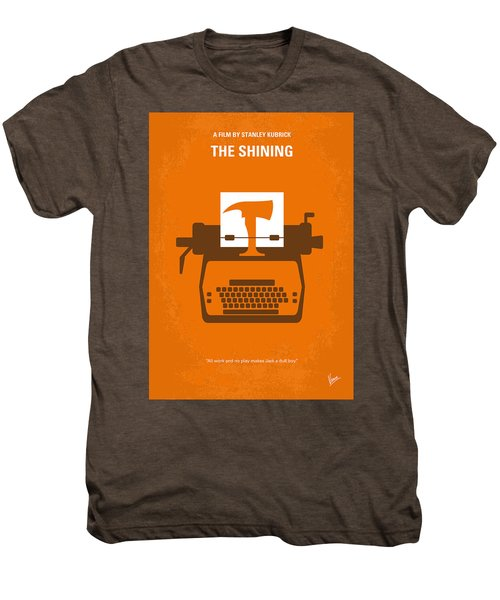 No094 My The Shining Minimal Movie Poster Men's Premium T-Shirt by Chungkong Art