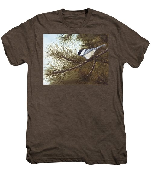 Out On A Limb Men's Premium T-Shirt by Rick Bainbridge