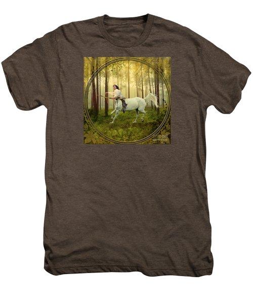 Sagittarius Men's Premium T-Shirt by Linda Lees