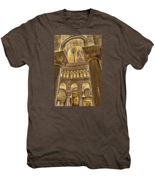 The Angel Men's Premium T-Shirt by Maria Coulson