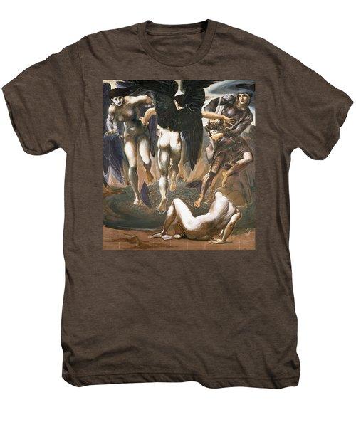The Death Of Medusa II, 1882 Men's Premium T-Shirt by Sir Edward Coley Burne-Jones