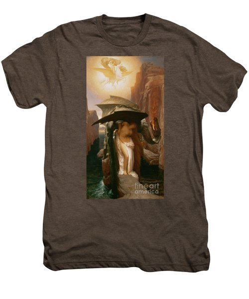 Perseus And Andromeda Men's Premium T-Shirt by Frederic Leighton