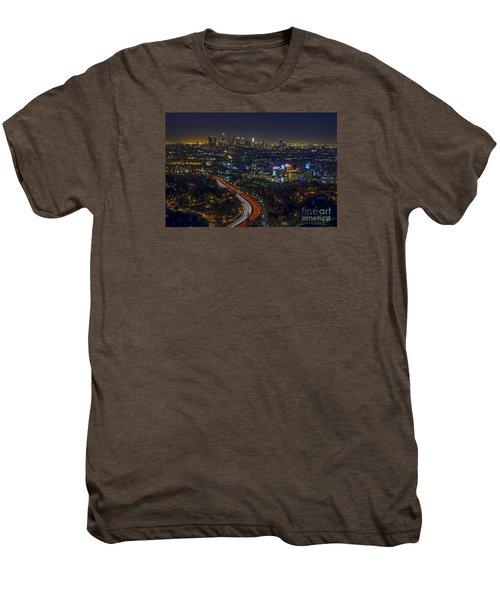 Los Angeles Sunrise Men's Premium T-Shirt by Art K