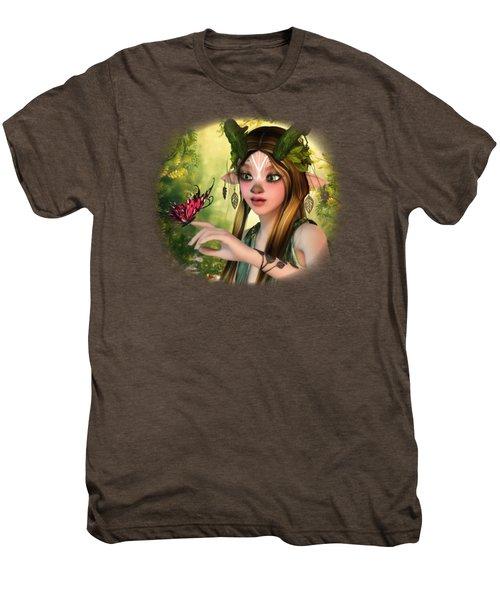 A Gentle Touch Men's Premium T-Shirt by Brandy Thomas