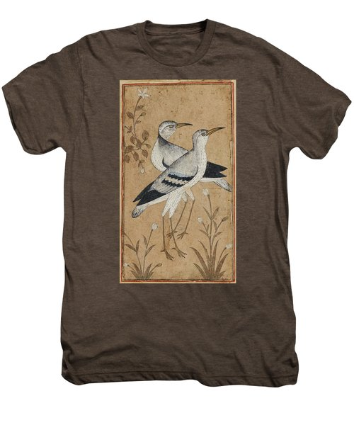 A Pair Of Lapwings Men's Premium T-Shirt by MotionAge Designs