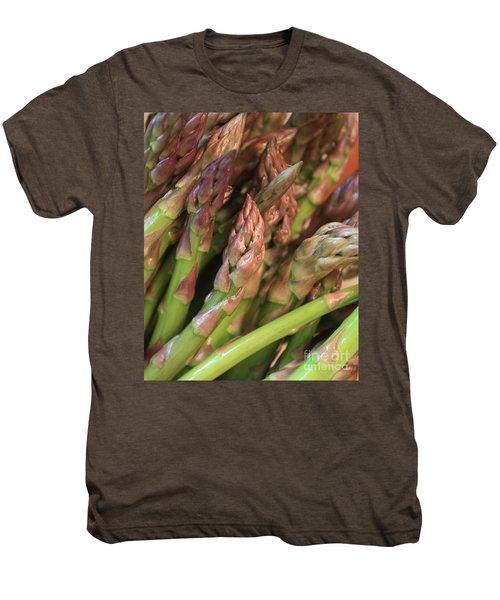 Asparagus Tips 2 Men's Premium T-Shirt by Carol Groenen