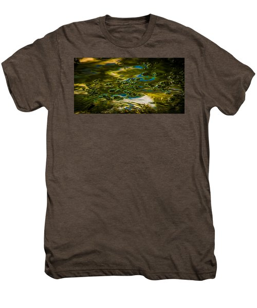 Bubbles And Reflections Men's Premium T-Shirt by Marvin Spates