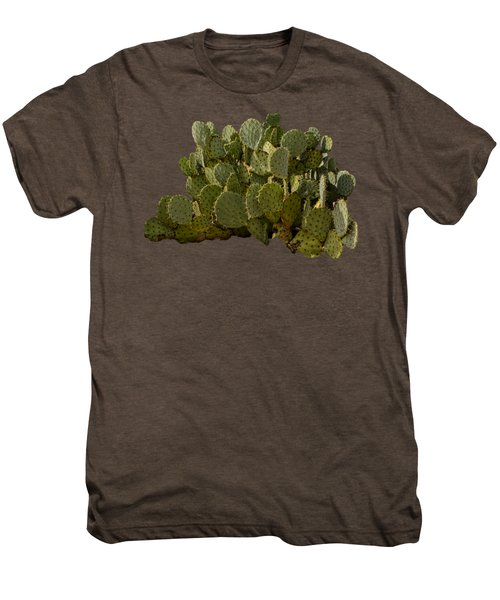Desert Prickly-pear No6 Men's Premium T-Shirt by Mark Myhaver
