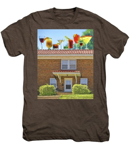 Drinks On The House Men's Premium T-Shirt by Nikolyn McDonald